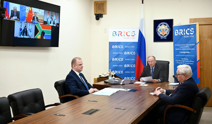BRICS National Security Advisors discuss topical issues of security cooperation