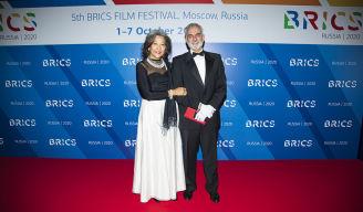 Церемония открытия Пятого кинофестиваля стран БРИКС прошла в театре «Россия»