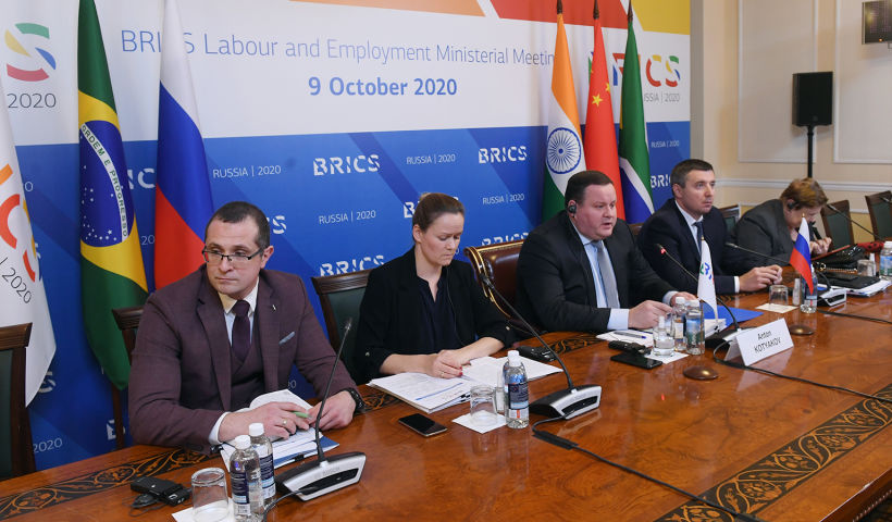 Ministers discuss development of labour related issues in BRICS