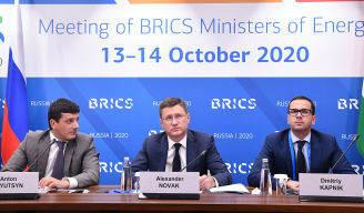 Concluding remarks by Minister of Energy of the Russian Federation Alexander Novak