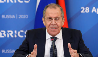 Foreign Minister Sergey Lavrov's message of greetings to participants in the 12th BRICS Academic Forum