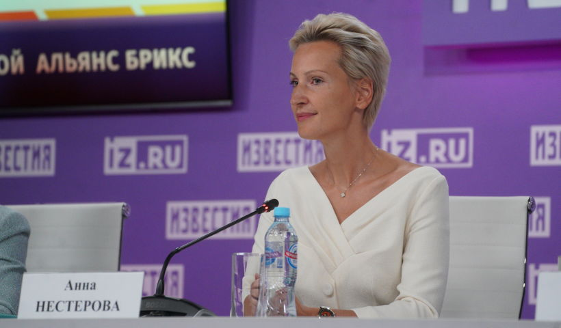 """Anna Nesterova, Head of the Russian National Chapter of the BRICS Women's Business Alliance: """"Women's business development is one of the most promising drivers of economic growth"""""""