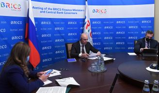 BRICS Finance Ministers and Central Bank Governors review the outcomes of theRussian BRICS Сhairmanship in 2020 in the relevant areas