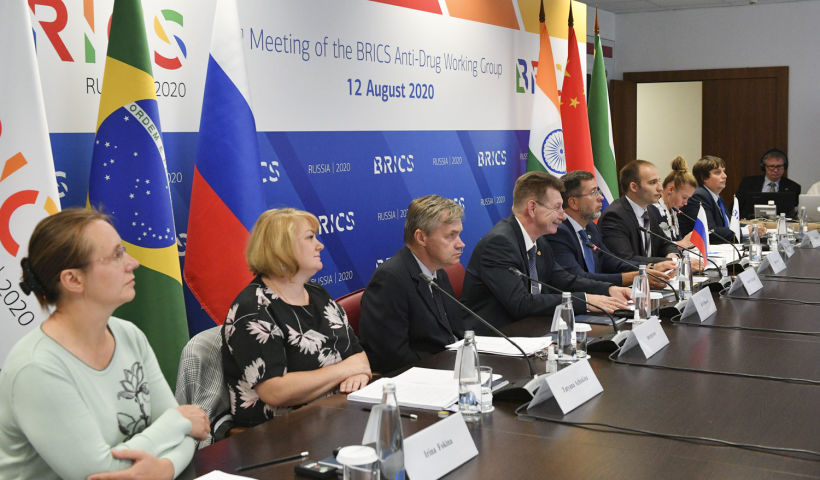 BRICS experts discuss anti-drug cooperation
